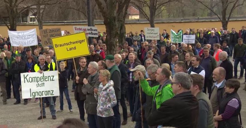 Protest in Hannover
