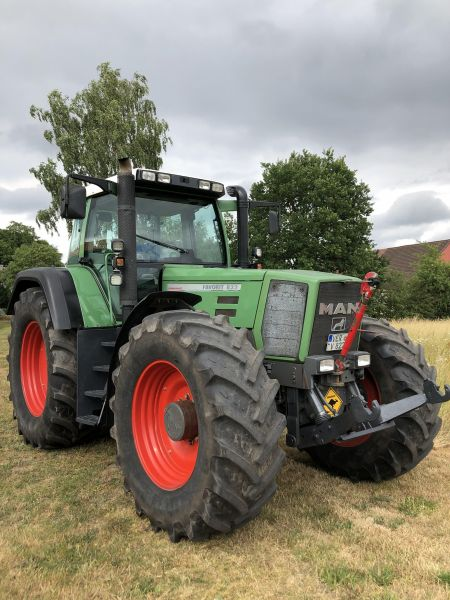 Fendt Favorit 822 in der Ansicht